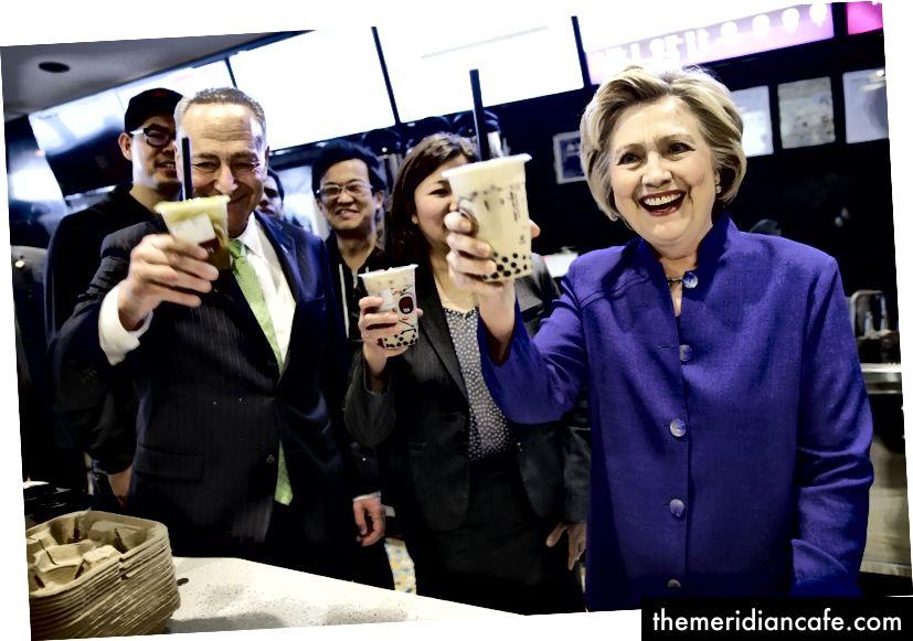 Apparemment, les Dems aiment aussi le thé Boba.