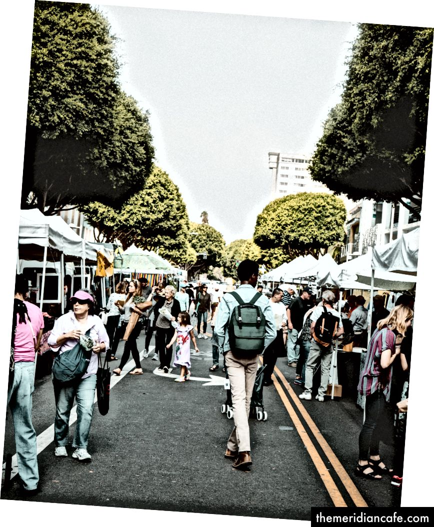 «Les gens qui marchent sur la passerelle pendant la journée» par Dane Deaner sur Unsplash