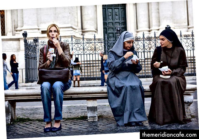 Essen, beten, lieben - Gelato