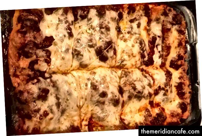 Zauważona w Internecie, prawdziwa lasagna, zrobiona od podstaw. (Jest moje, było pyszne!)
