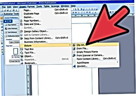 Clip Art Task Panelidan fotosurat qo'shish (2003, 2007 va 2010-yillarda nashr etilgan)