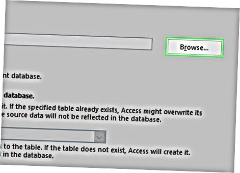 Usando Microsoft Access