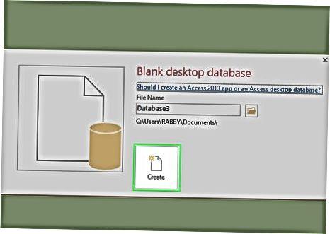 Uso de software de base de datos de terceros