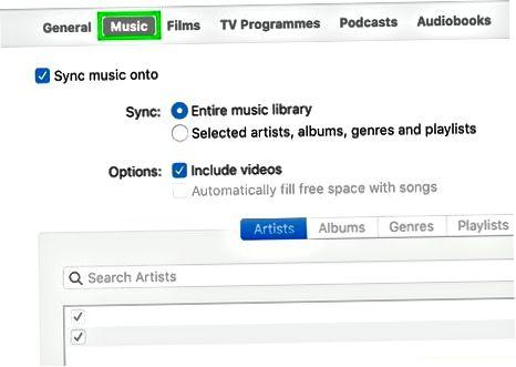 Kompyuterda iTunes bilan iPhone yoki iPad-ni sinxronlashtirish