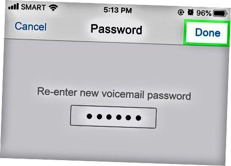 Configurar un correo de voz de Verizon o Sprint