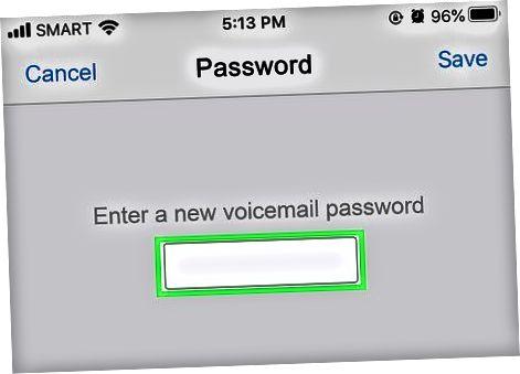 Configurar un correo de voz visual de AT&T