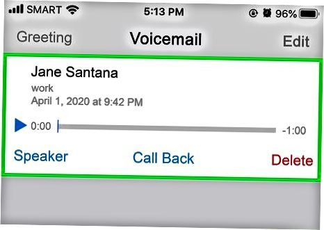 Usar Visual Voicemail
