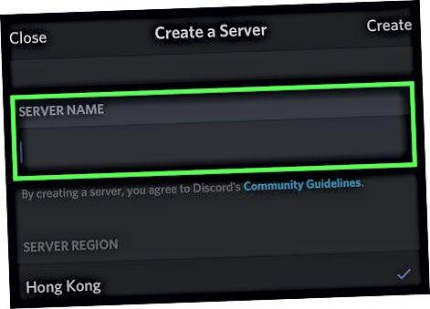 Crear un servidor