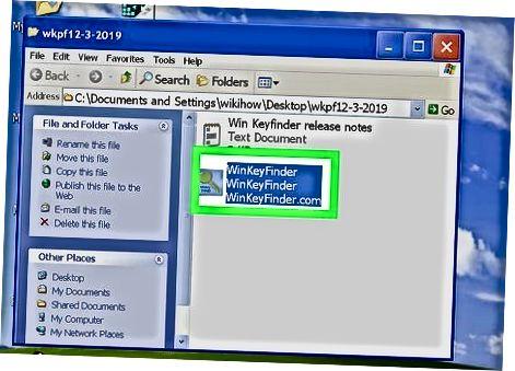 Windows Key Finder-dan foydalanish