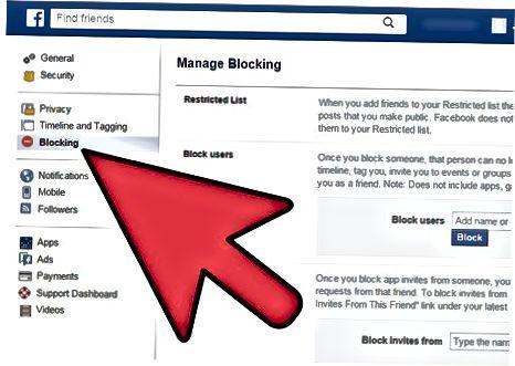 Facebook-da ilovani blokirovka qilish