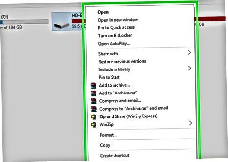 Windows-ga tashqi qattiq diskni o'rnatish