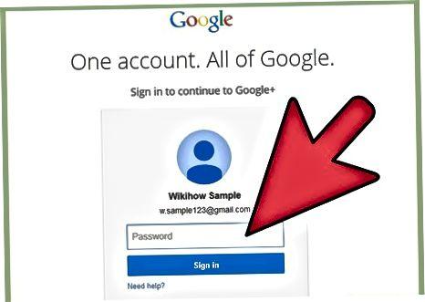 Google+ hisobingizga kirish