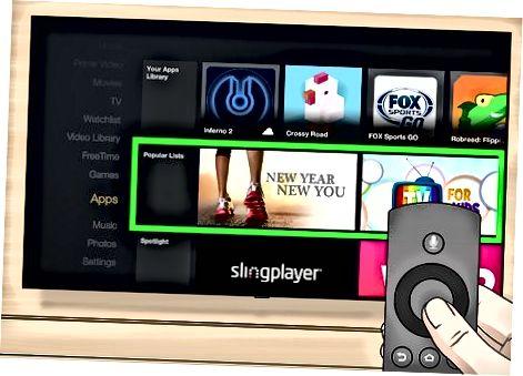 Amazon Fire TV-da