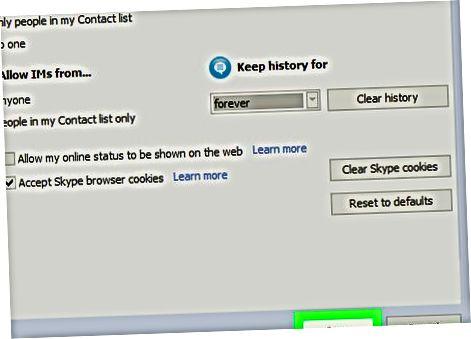MacOS yoki Windows 8.1 (va undan oldingi) uchun Skype Classic-dan foydalanish