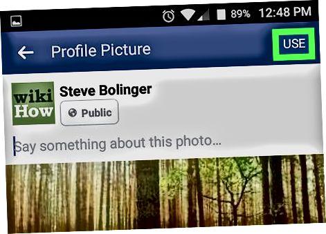 Использование приложения Facebook