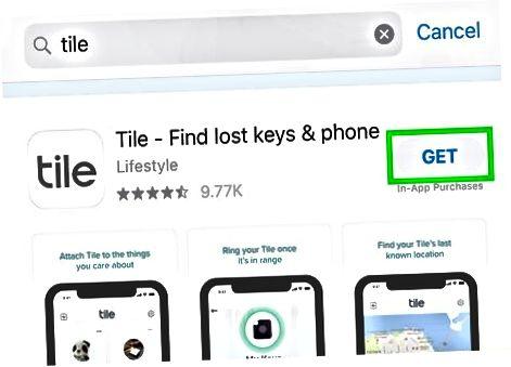 App Store-dan plitkani o'rnating