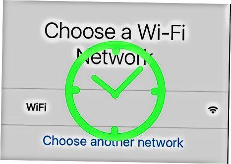 Wi-Fi yoki uyali ulanishdan foydalanish