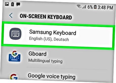 Samsung Galaxy-dan foydalanish