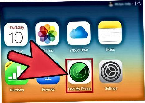 Mening iPhone-ni topishga kirish