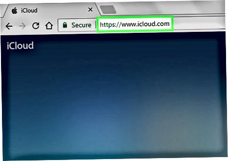 Internetda iCloud-ga kirish