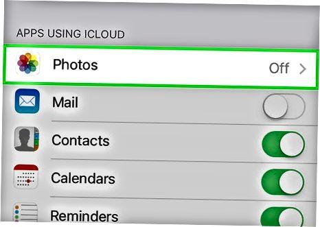 IPhone yoki iPad-da iCloud bilan sinxronlash