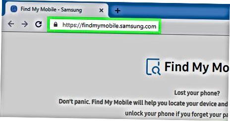 """Samsung-ning """"Mening mobil telefonimni top"""" vositasidan foydalanish"""