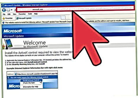 Active X auf Websites installieren