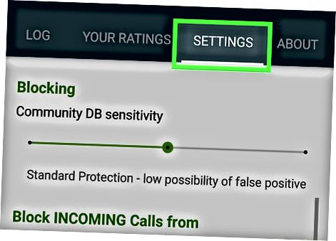 Stok Android-dagi barcha noma'lum raqamlarni blokirovka qilish