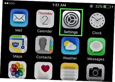 Samolyot rejimida iPhone-ni joylashtirish