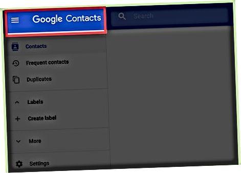 Kontaktlarni telefondan Google-ga nusxalash