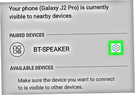 Android-da juftlikni ajratish (Samsung)