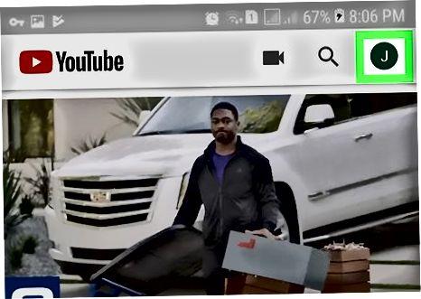 Android uchun YouTube ilovasidan foydalanish