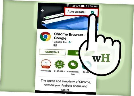 Android-da Google Chrome yangilanmoqda