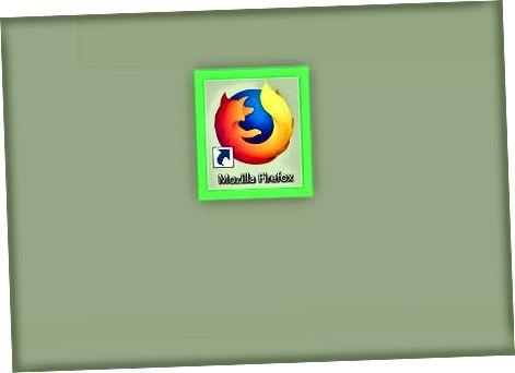 Firefox-ni ish stolida ishlatish