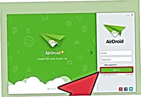 Simsiz uchun AirDroid-dan foydalanish (Mac va Windows)