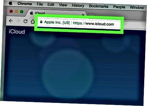 ICloud veb-saytidan foydalanish
