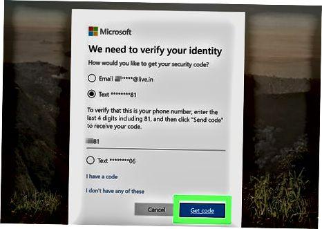 Onlayn Microsoft hisob qaydnomasi parolini o'zgartirish