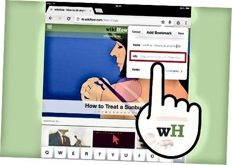 IPad uchun Chrome-da xatcho'plarni qo'shish