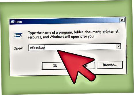 NTBACKUP yordamida Exchange Server 2003-ni qanday zaxiralash