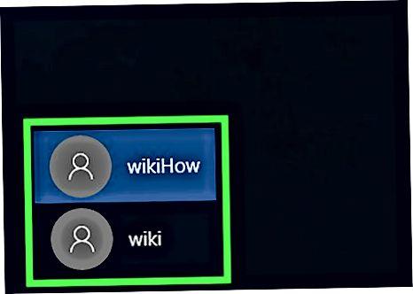 Buyruq so'rovi bilan Windows 10 parolini o'zgartirish
