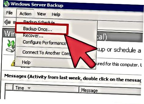 Windows Server zaxira nusxasi bilan Exchange Server 2010-ni qanday zaxiralash