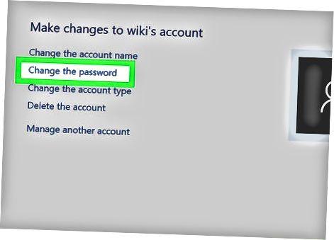 Administrator qayd yozuvidan Windows 10 parolini o'zgartirish