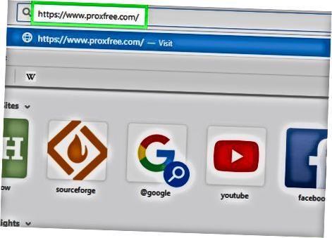 ProxFree Proxy-dan foydalanish