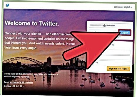 Internetda Twitter-da kuzatuvchilarni qabul qilish