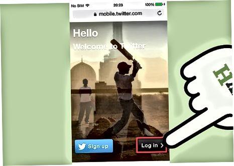 Twitter mobil ilovasida kuzatuvchilarni qabul qilish