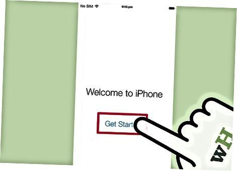 Yangi iPhone-ni yoqish