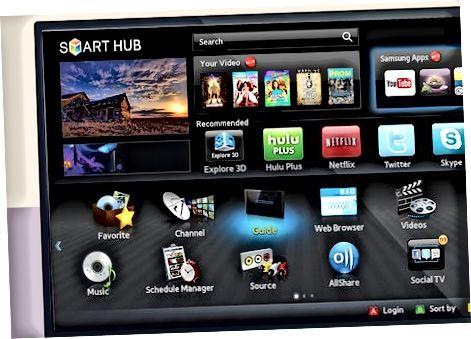 Smart TV-ni yoqish va ro'yxatdan o'tkazish