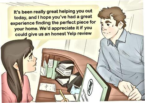 अपने ग्राहकों को मौखिक रूप से पूछना
