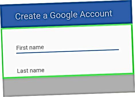 Yangi Google hisobini yaratish