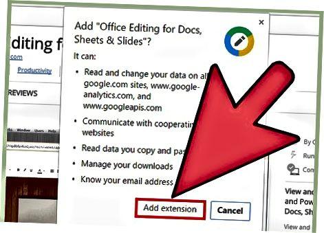 Google Word-da Microsoft Word fayllarini ochish
